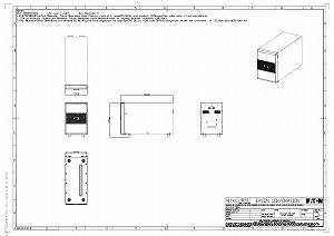Eaton 9SX EBM 240/V 8//11kva/ /9sxebm240/SAI Bater/ía